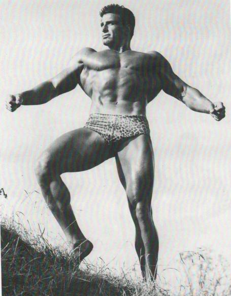 Armand Tanny Bodybuilding Epic Lat Spread Pose