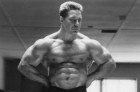 Bill Pearl Impressive Bodybuilding Upper Body Pose