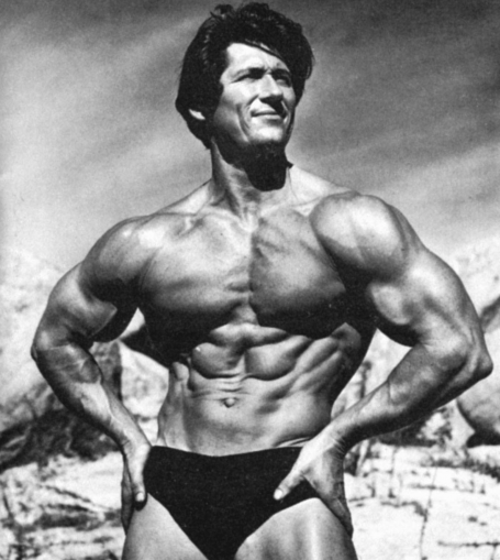 Don Howorth Bodybuilder Duke of Delts Wide Shoulders