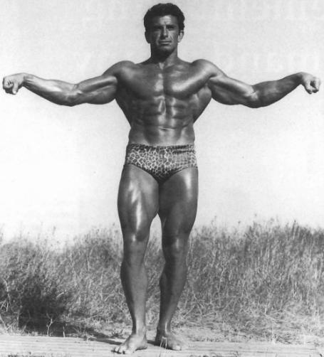 Forearm Pose Armand Tanny