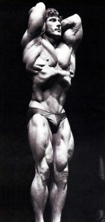 Frank Zane Vacuum Bodybuilding Pose