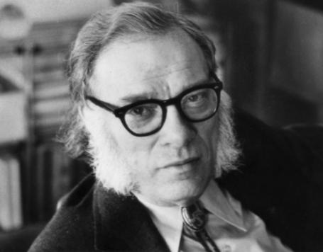 Isaac Asimov Portrait