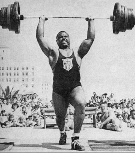 John Davis Olympic Weightlifter