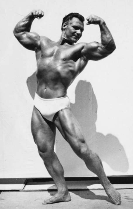 John Grimek Bodybuilding Big Arms Pose