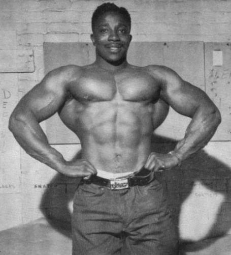 Leroy Colbert Lat Spread Bodybuilding Pose