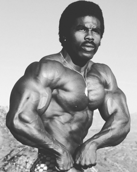 Robby Robinson Classic Chest Bodybuilding Pose