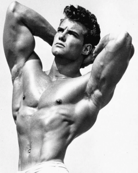 Steve Reeves Classic Bodybuilding Pose
