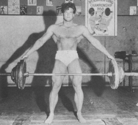 Steve Reeves Wide-Grip Dead-Lift